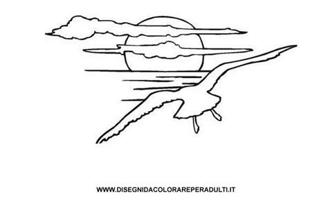 gabbiano sirenetta gabbiano disegni da colorare per adulti
