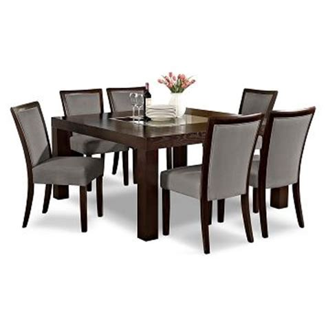 American Signature Dining Room Sets American Signature Furniture Gray Dining Room 7 Pc Dinette 60 Quot Table 899 93 Home