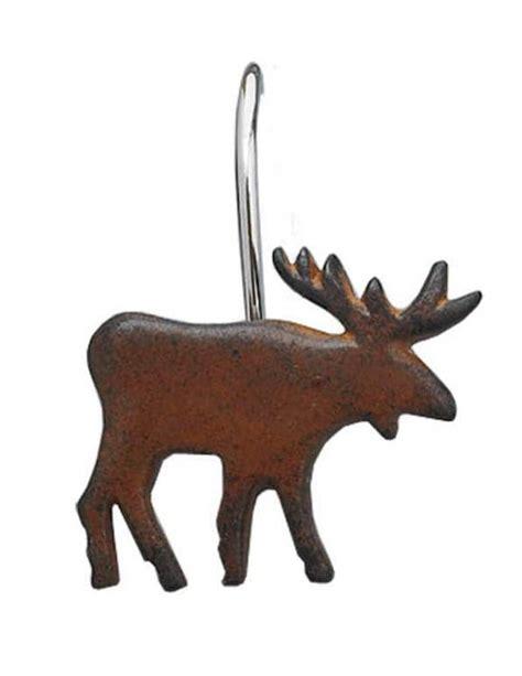 moose shower curtain hooks burl moose shower curtain hooks