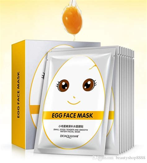 Egg Mask Bioaqua bioaqua eggs mask care antioxidant