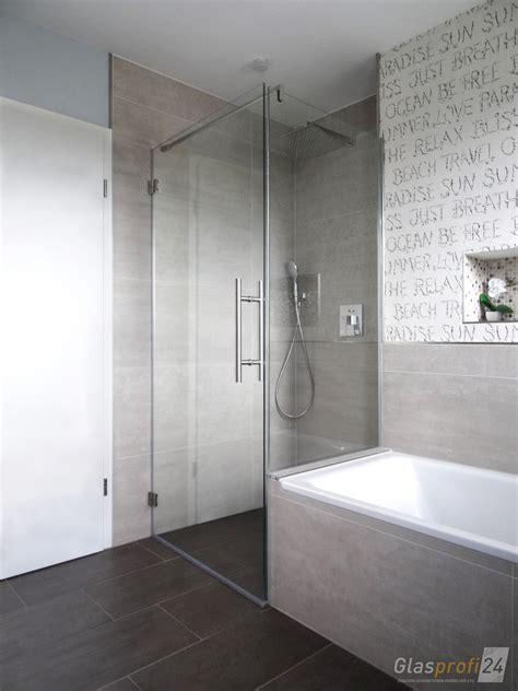 Dusche Mit Badewanne by Badewannen Anschluss Als Glasdusche Glasprofi24
