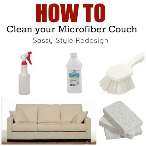 clean microfiber couch with alcohol how to clean a sofa 25 unique clean fabric couch ideas on
