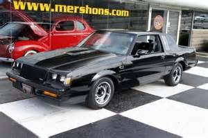 86 Buick Grand National Sell Used 86 Buick Grand National 34k Black With