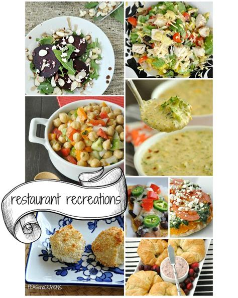 Oscars Menu Recap Recipes Galore by Restaurant Recreations Copycat Recipes Peas And