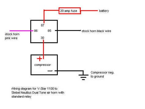 Floating Switch Maxon 5 Meter wiring diagram for air horn relay circuit and schematics