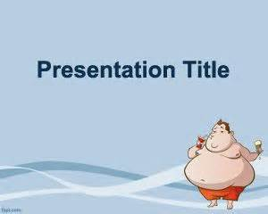 childhood obesity powerpoint templates this obesity powerpoint template is a free obesity