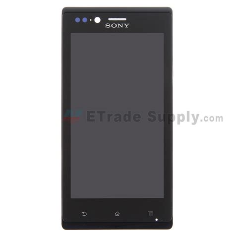 Sony Xperia J St26i sony xperia j st26i lcd and digitizer assembly with front housing etrade supply