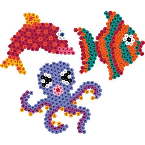 sea creatures perler