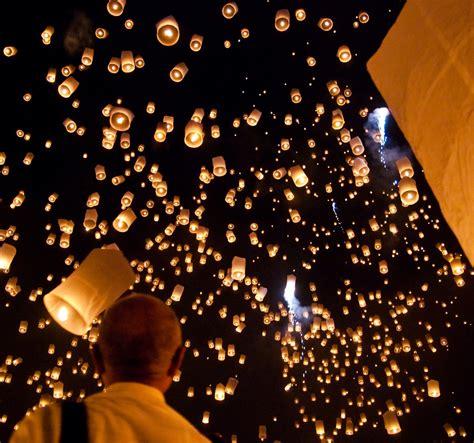 mini lanterne volanti 10 pz sky lantern lanterna lanterne cinese volante mini