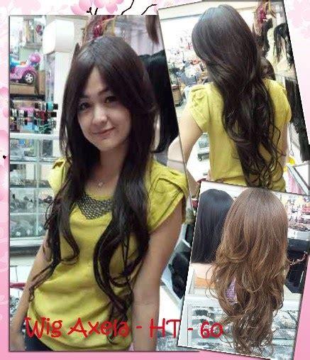 Wig Axela Asley By Wig jual wig murah hairclip murah grosir eceran