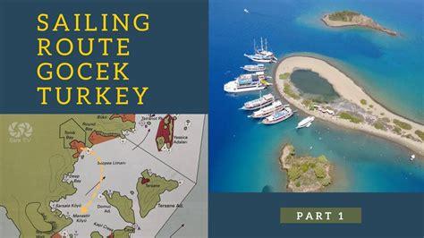 catamaran sailing part 1 sailing route gocek turkey on catamaran part 1 sea tv