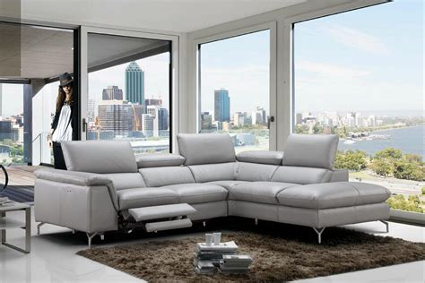 refined 100 italian leather sectional fort worth