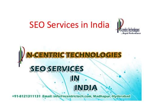 Seo Company 1 by Seo Services In India Seo Services