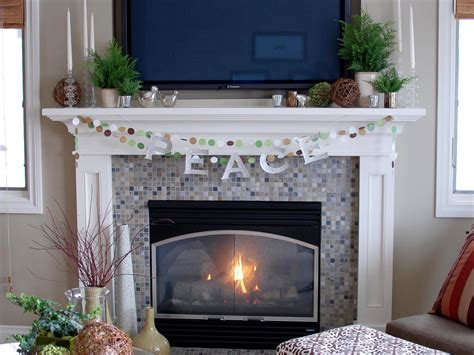 Decorating Fireplace Mantel With Tv Above by Decorate Your Mantel For Winter Interior Design Styles And Color Schemes For Home Decorating