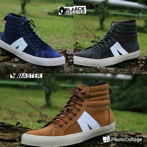 Sepatu Snecker jual sepatu casual pria black master arl sepatu sneakers