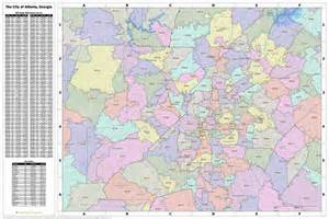 atlanta zip code map search the maptechnica printable map catalog maptechnica