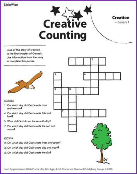 your cross the puzzle of god volume 1 books creation crossword bible activities children ministry