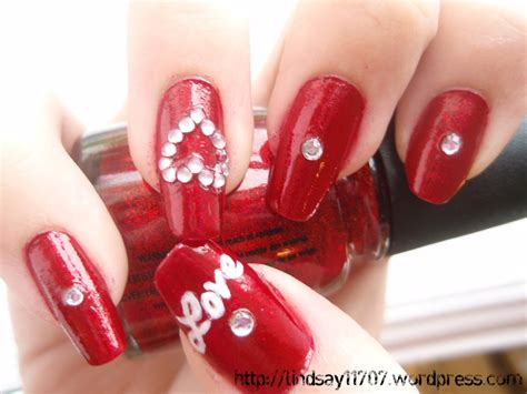nails for valentines nail designs