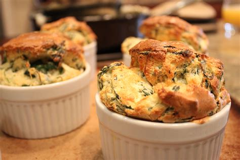 Spinach Cheese Souffle | cooking with elise spinach cheese souffle