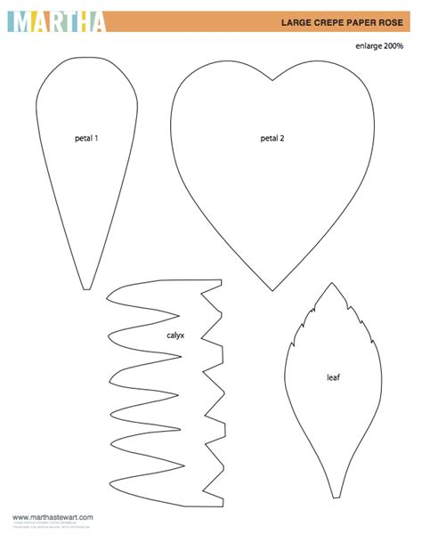paper flower templates martha stewart diy crepe paper flower tutorial design improvised