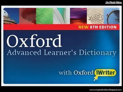Oxford Advanced Learners Dictionary Edisi 9 oxford advanced learner s dictionary 8th edition