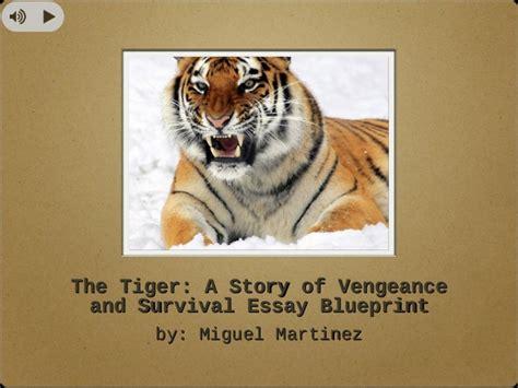 Tiger Essay by The Tiger Essay Blueprint