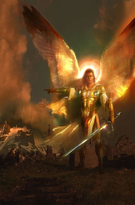 Stand And Deliver Meaning by Saint Michael Protect Us Bing