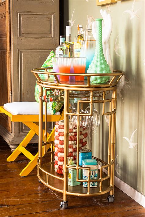 Cafe Kitchen Decorating Ideas chic styled bar carts best friends for frosting