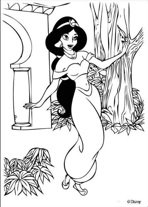 jasmine coloring pages coloring pages to print