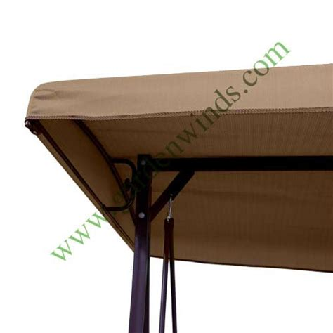 replacement swing covers charm swing replacement canopy cover 395346 garden winds
