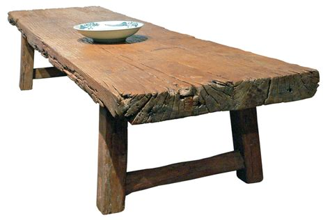 tisch rustikal daily wood choice woodworking coffee table plans