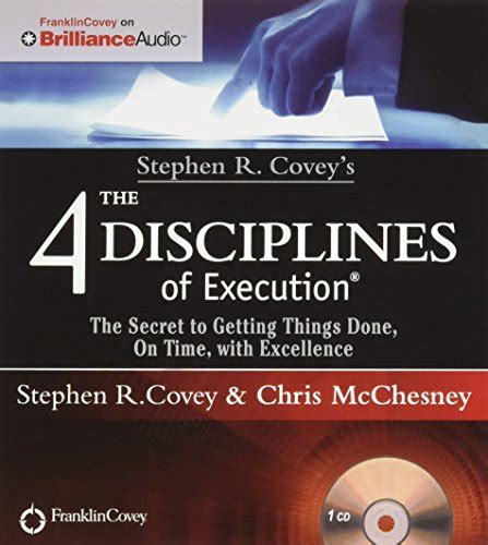 goal the science of getting stuff done books bookler the 4 disciplines of execution achieving your