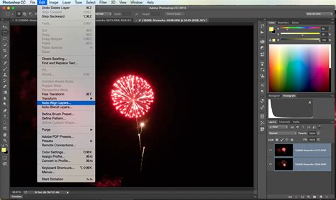 align and distribute layers in photoshop tutorial playing with fireworks in photoshop vironevaeh