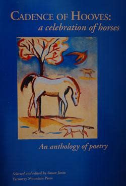 cadence a book of poems books cadence of hooves a celebration of horses