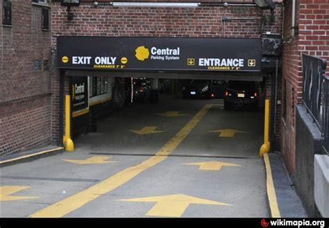 central parking system coliseum park garage new york