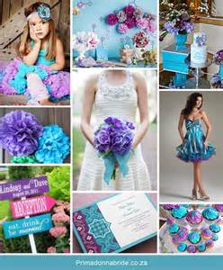 top 5 color combination ideas for purple weddings