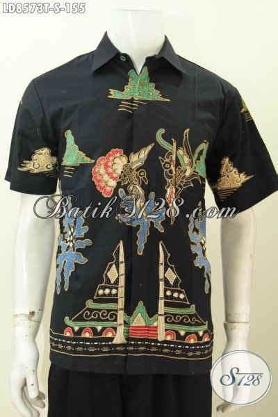 Jual Kemeja Casual Pria Motif Batik Keren jual baju batik buat pria kemeja batik tulis motif keren banget bahan adem harga 150