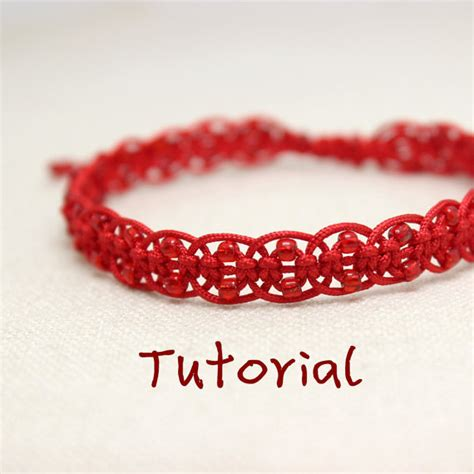 eBook Glow Tutorial to Chinese knot macrame bracelet
