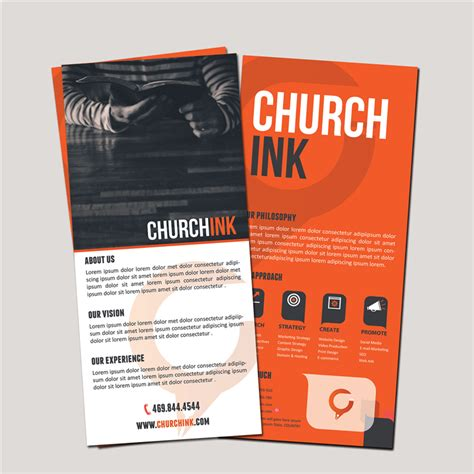 churchink card printing