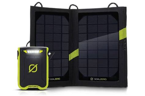 goal zero solar charger review goal zero venture 30 a rugged and waterproof solar gadget
