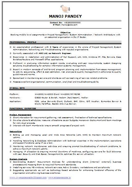 engineer resume example with regard to network engineer resume ppyr us