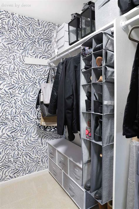 six steps to organize your closet in one weekend north how to organize your hoard closet in six simple steps