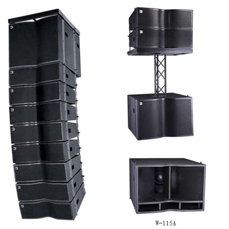 Speaker Mini Line Array mini active line array speaker dual 8 quot two way active