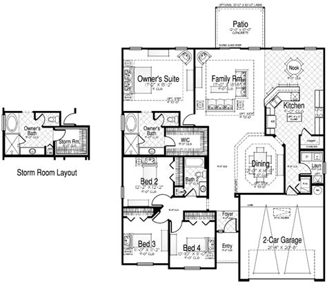 cornerstone homes castille ii floor plan home design and