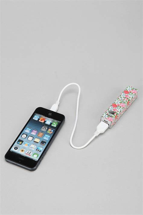 portable phone charger printed portable phone charger