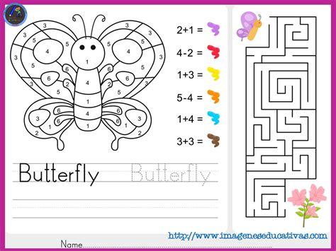 imagenes matematicas para imprimir fichas de matematicas para sumar y colorear dibujo 1
