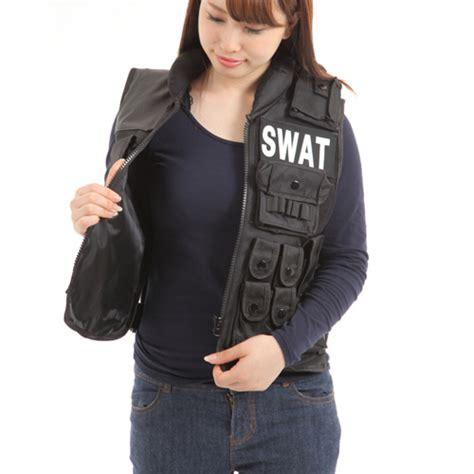 Vest Swat 楽天市場 スワット swat コスプレ ミルフォース ベスト ハロウィン スワットコスチューム サバイバルゲーム