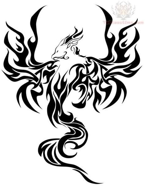 tribal pheonix tattoo 17 best images about on