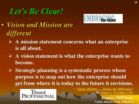 mission statement objectives what is the difference between a mission statement and