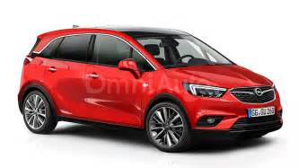 Opel Meriva Opel Meriva Rendered And Spied Showing Interior